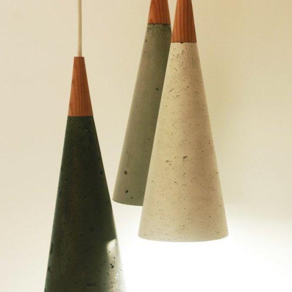 Concrete Cone Lamp Group 1
