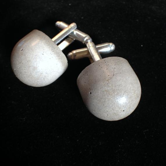 Concrete Cufflinks 1