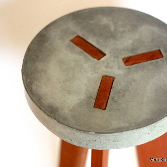 Y concrete stool 5