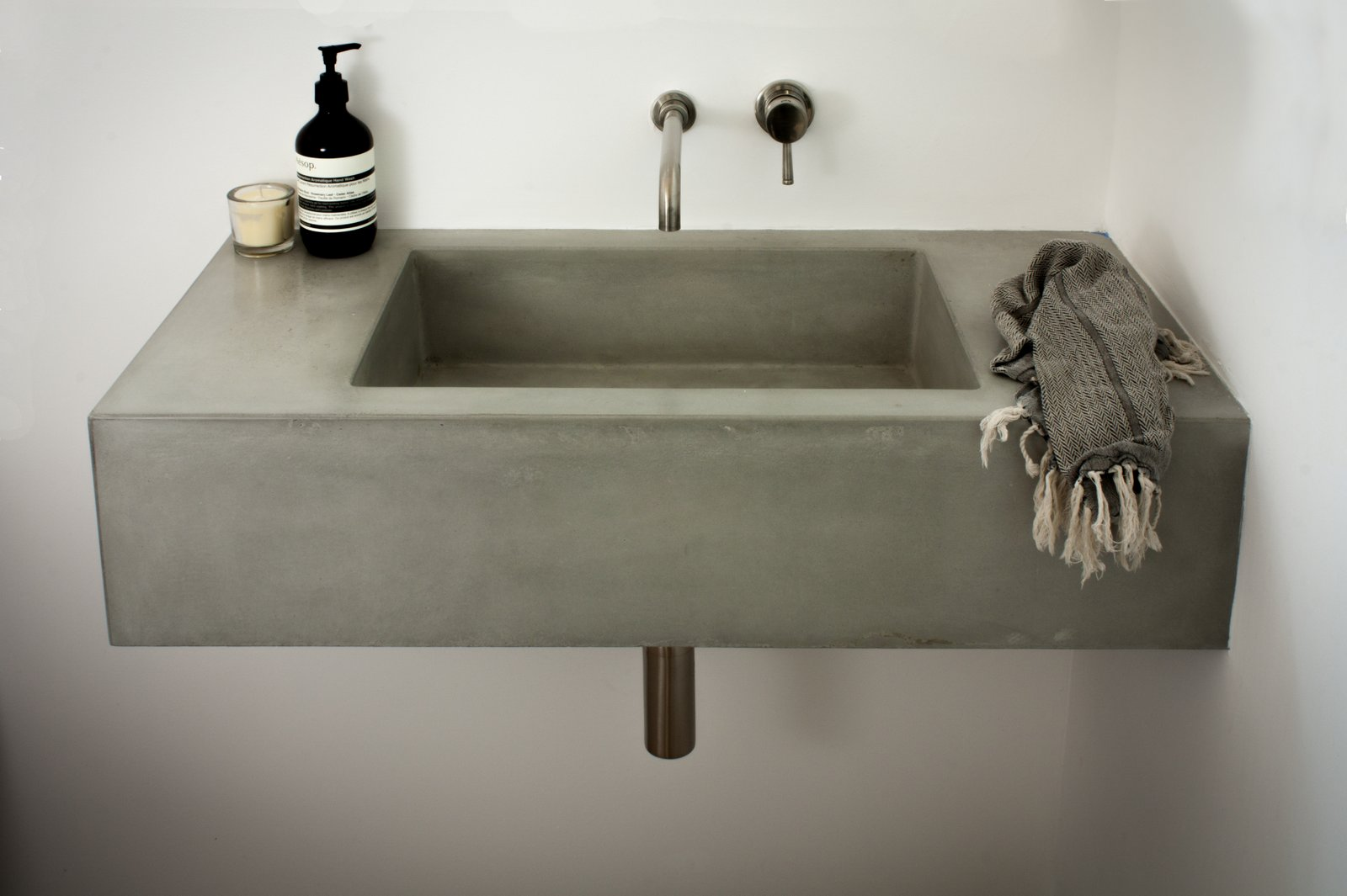 Concrete Box Sink